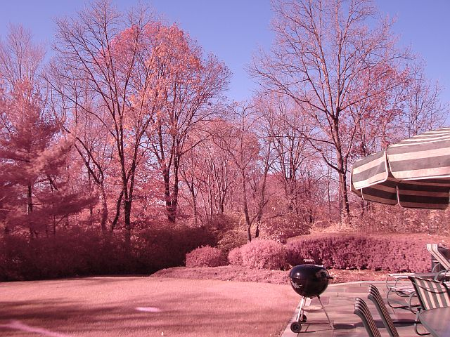 pink image because IR cut filter is missing. webfound